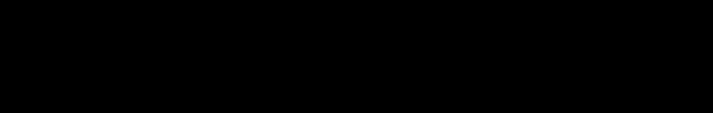 Horizontal Logo - Monochrome Black