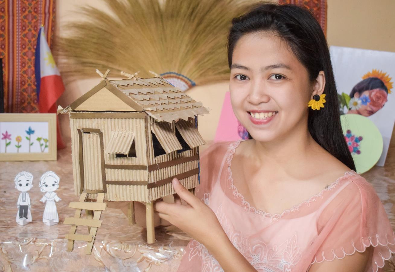 Filipino Miniature Bahay Kubo