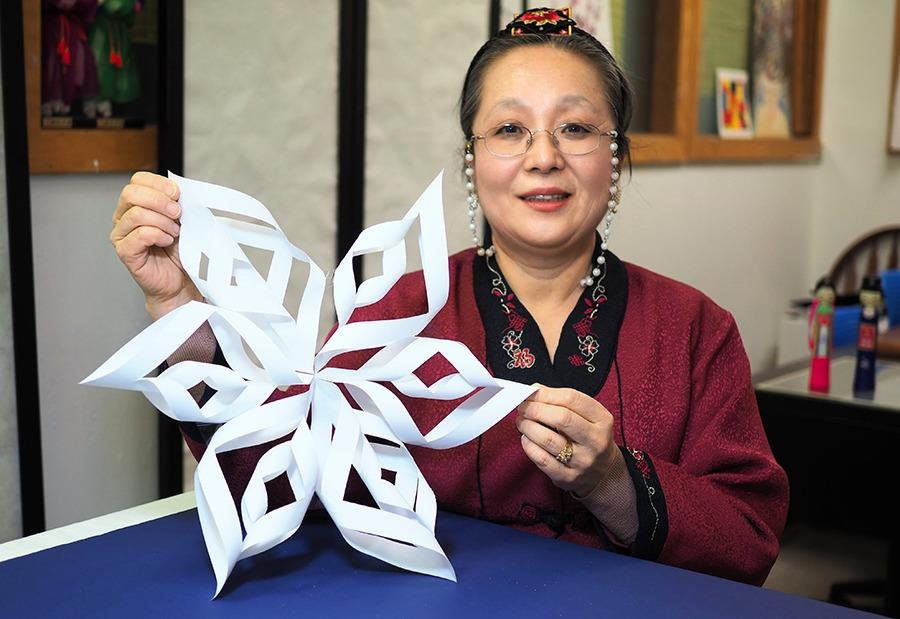 3D Snowflakes: Korean Jong-ie Jupgi