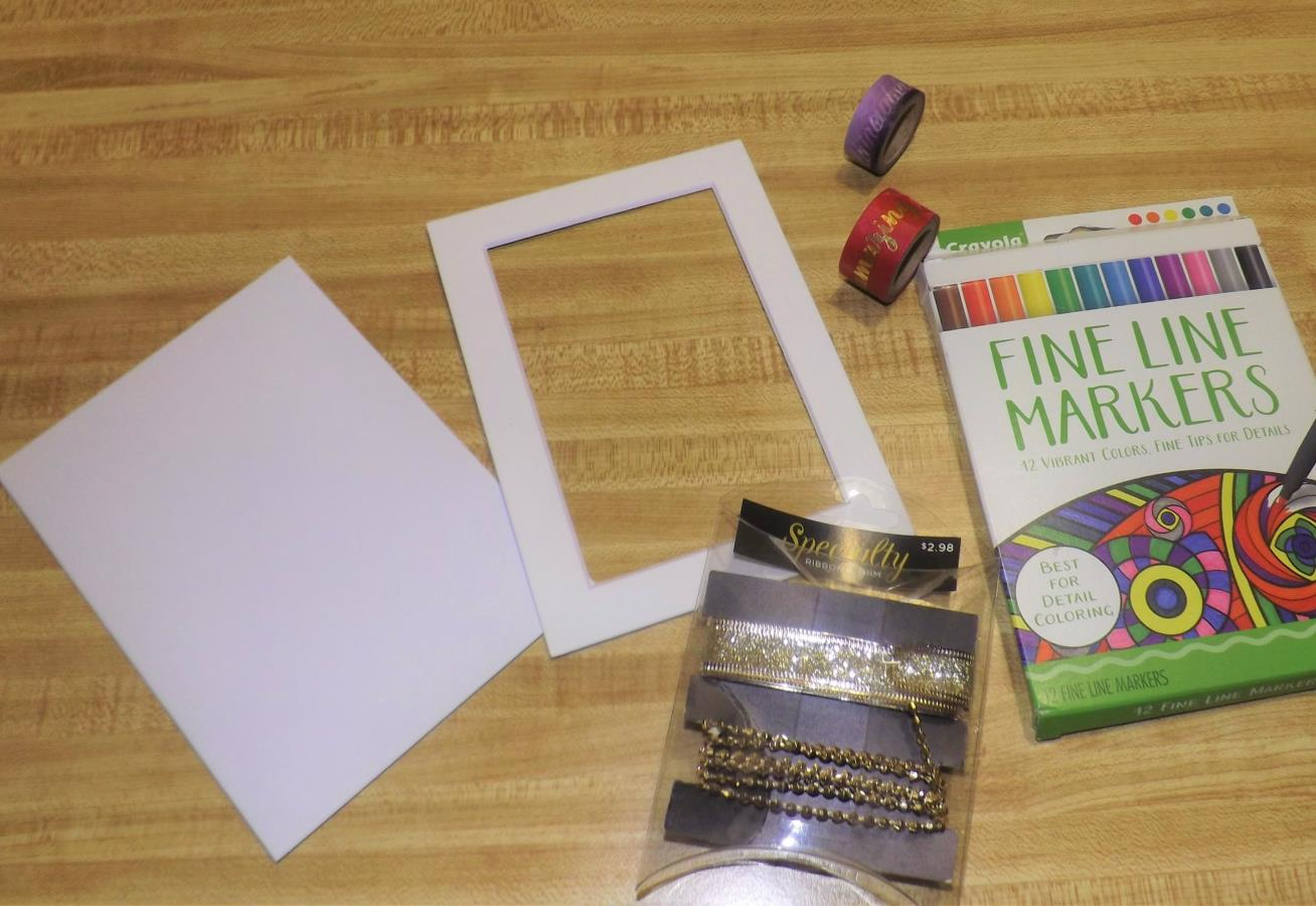 Creating and Designing Picture Frames