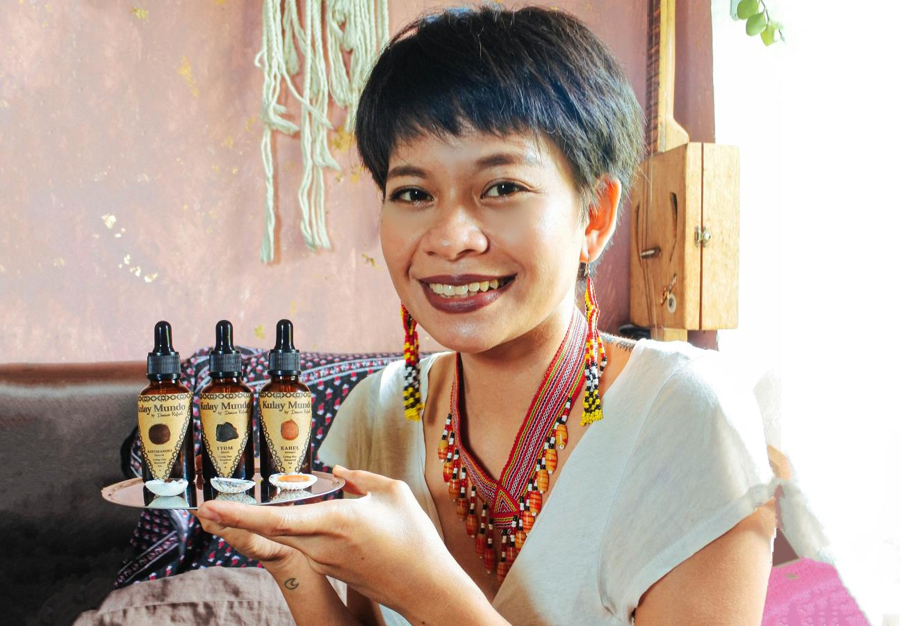 Botanical Paint Making from the Philippines